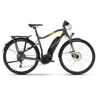 Haibike SDURO Trekking 4.0 He 400Wh 10-G Deore YWC anthr./schwarz/lime Gr. L